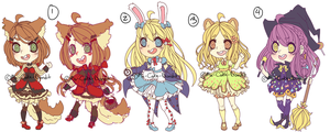 ::Adopts:: Twisted Fairy Tales SET PRICE by K0USEKI