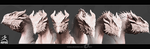 Zbrush Dragon 2  (Render) by IrenBee