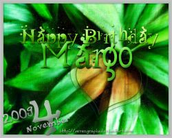 Happy Birthday Margo by sevengraphs