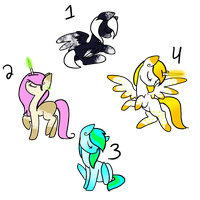 Pony Adopts :OPEN: by EthelZeeb