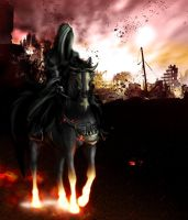 Horseman of the Apocalypse by Shandra-chan