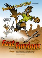 The Fast and the Furrious by theInkMenagerie