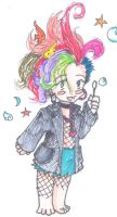 Chibi Delerium by heart-of-glass