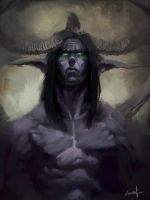 illidan stormrage by oldboy93