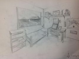 Art Project - Room by Skyder117