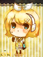 FA: KAGAMINE RIN by tofuface
