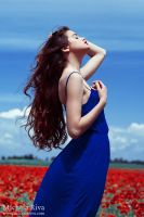 Into the Wild Red 13 by Michela-Riva