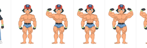 Evolution of an Ashchamp by pika626