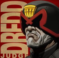 JUDGE DREDD by Greenstuff-Alex