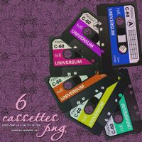 Cassettes PNG by camiluchiiz