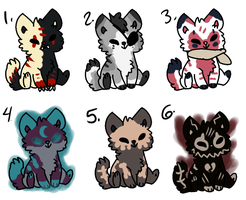 Chibi Canine -Open- $1 or points by MiniTheFox