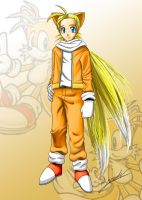 Human Tails CG by axt234