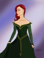 Lady Dileyla Trevelyan by GreenHummingbird