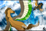 Playing with clouds by zavraan