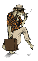 Fear and Loathing in I can't think of a good pun by Canis-ferox