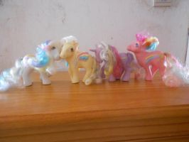 my little pony collection: rainbow curl ponies by theladyinred002