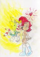 Sonic And Sally: The Power Of Sally's Lips by ClassicSonicSatAm