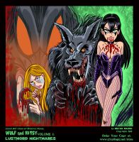 Wulf and Batsy Volume 2 Cover Art by BryanBaugh