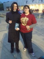 OCC2015 - Professor Snape and HBP Hermione by dragoon811
