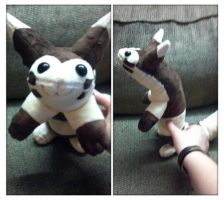 furret plush by LRK-Creations