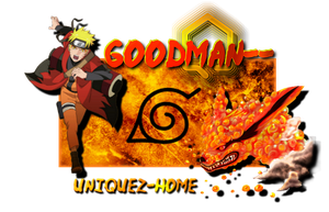 goodman's signature by Chi-Mows