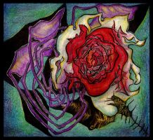 The Sick Rose by WorlockMolly