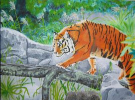 Lurking Tiger by petrunsig