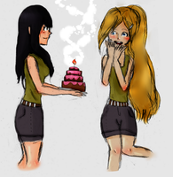 Happy VERY EARLY Birthday Ino ^^ ~~ by AskHyugaHinata