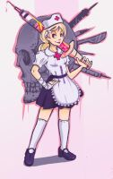 Battle Nurse by Chicken--Scratch