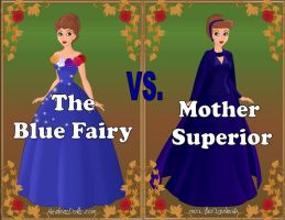 Blue Fairy vs Mother Superior by Sunshine-Girl524