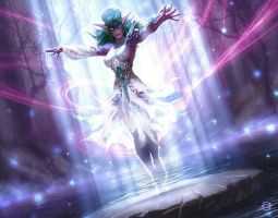 Echo of Tyrande by AlexGarner