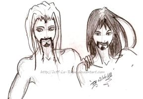 Fili and Kili by Jeff-La-Bleue