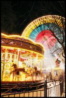 Ferris Wheel and Carouselle by two-truths