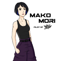 Mako Mori by juliahiddles