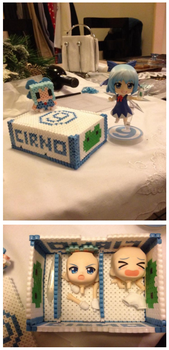 Nendoroid storage box - Cirno by Marsharino