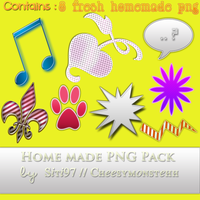Homemade PNG pack by Cheesymonstehh by siti97