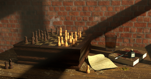 The Thinkers Game by JigglyRitz