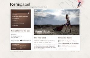 formidabel sew homepage by cidix890
