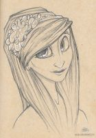 Day 70 ( Flower Girl) by Absur-D