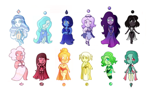 Gem adoptables 3/12 open by LadyNephthys