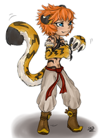 TigerGirl by SilverRacoon