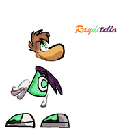 NEW CHARACTER : Rayditello by Melody-Dawn
