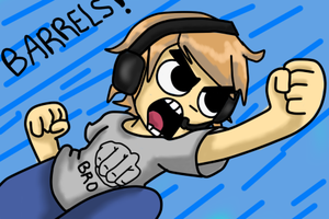 PEWDIEPIE - BARRELS by Coco-Enthusiasm
