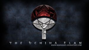Uchiha Clan Symbol by redfoxxed