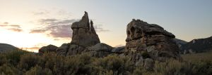 Silent City of Rocks 2 by Iamidaho