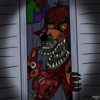 Nightmare Foxy by FNaF2FAN