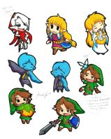Skyward sword chibi by SuperTawaifaQueen