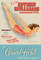 Esther Williams Swimming Pool by AtomicKirby