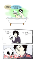 Bath time bros by brewhay