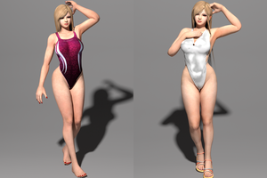 DOA5LR Mai Shiranui - Swimsuits [DL] by Shuubaru
